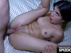 Bring to a close Tight Teen Sally Squirt loves Huge Cock - Spizoo