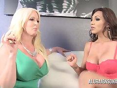 Alura Jenson gets Fucked by Shemale Jessy Dubai