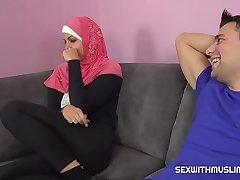 A horny pauper fucks his Muslim sister-in-law