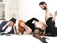 He Gets Cuckolded During Her Wife's Hollywood Casting