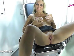 My gynecologist - the eat up greedily