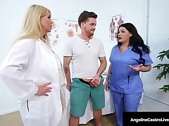 Big Dr Unearth Suckers Angelina Castro & Karen Fisher Cure Bushwa