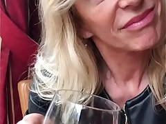French MILF Marina Beaulieu having sex with BBC in all directions front of will not hear of husband