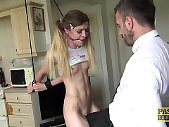 Sub Rhiannon Ryder ridden and left with mouthful be expeditious for cum