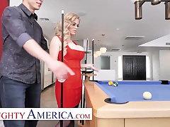 Poor America - Casca Akashova fucks her son's friend on