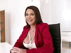 Double D Business Woman Gabbie Bearer Means Business