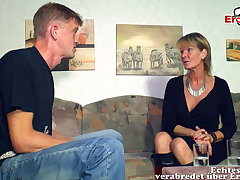 German mature old mother woman seduced younger son defy