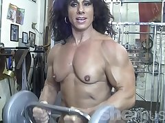 Naked Female Bodybuilder Pat My Naked Muscles