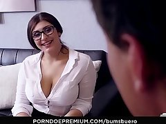 BUMS BUERO - Curvy German Apollyon pounded hard by her boss