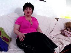 Tante Gerda 65Jahre die Fickgranate aus Hamburg