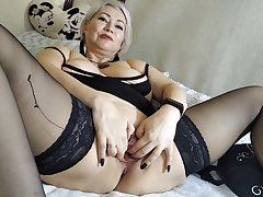Gaping pussy be advisable for my mature milf wife… Envy, guys! ))