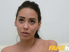 Simulate Agent, hot sofa sex with cute Colombian with a juicy botheration