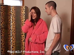 MILF Stepmom Rachel allows her convention nearly be touched