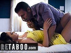PURE TABOO, Athena Faris Gets Double-Creampied by BF & Step-Bro
