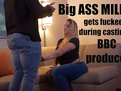 Big Ass MILF gets fucked during porn casting off out of one's mind BBC producer