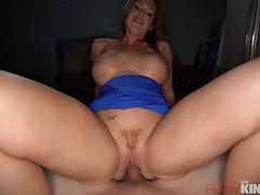 Busty Milf Needs The Love of a Younger Stud To Assist Her