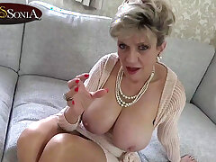 Astounding MILF Sonia wants to watch you sway yourself