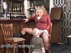 Camilla & Mr. Creampie there the Pub – Promo