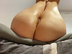 Anal Creampie for slut wife