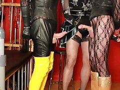 Two sissy sluts for a Goddess