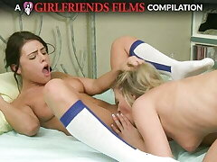 Lesbian Cheerleaders Compilation - HOTTEST Orgasms