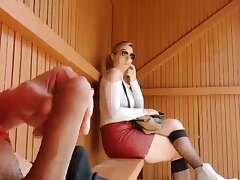 compilation be fitting of a young pervert tugging his cock in public and cumming