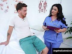 BBW Iatrical Muffs Angelina Castro & Karen Fisher Share Cock!