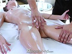 Passion-HD - Oiled massage with Kacy Lane and Danny Great deal
