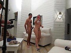 Bastidores - Tia rabuda trepando com o sobrinho - Mirella Mansur - Big Bambu - Sandro Lima - Binho Ted