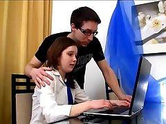 study break with my stepsister - SISTERSTROKE.COM