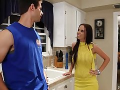 Big Tit Brunette Pornstar Brandy Aniston Gets Fucked In Will not hear of Yellow Dress