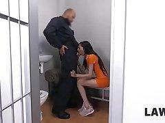 LAW4k. Ashley Ocean breaks make an issue of law so why gives cunt in interrogation precinct