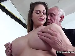 Cathy Heaven fucking concerning Grandad Ben Dover