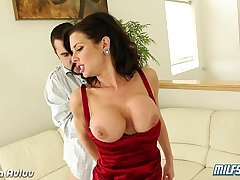 Sexy milf Veronica Avluv fucking