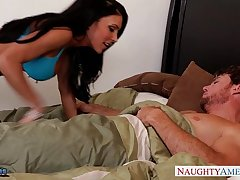 Busty shadowy in stockings Jessica Jaymes gets fucked